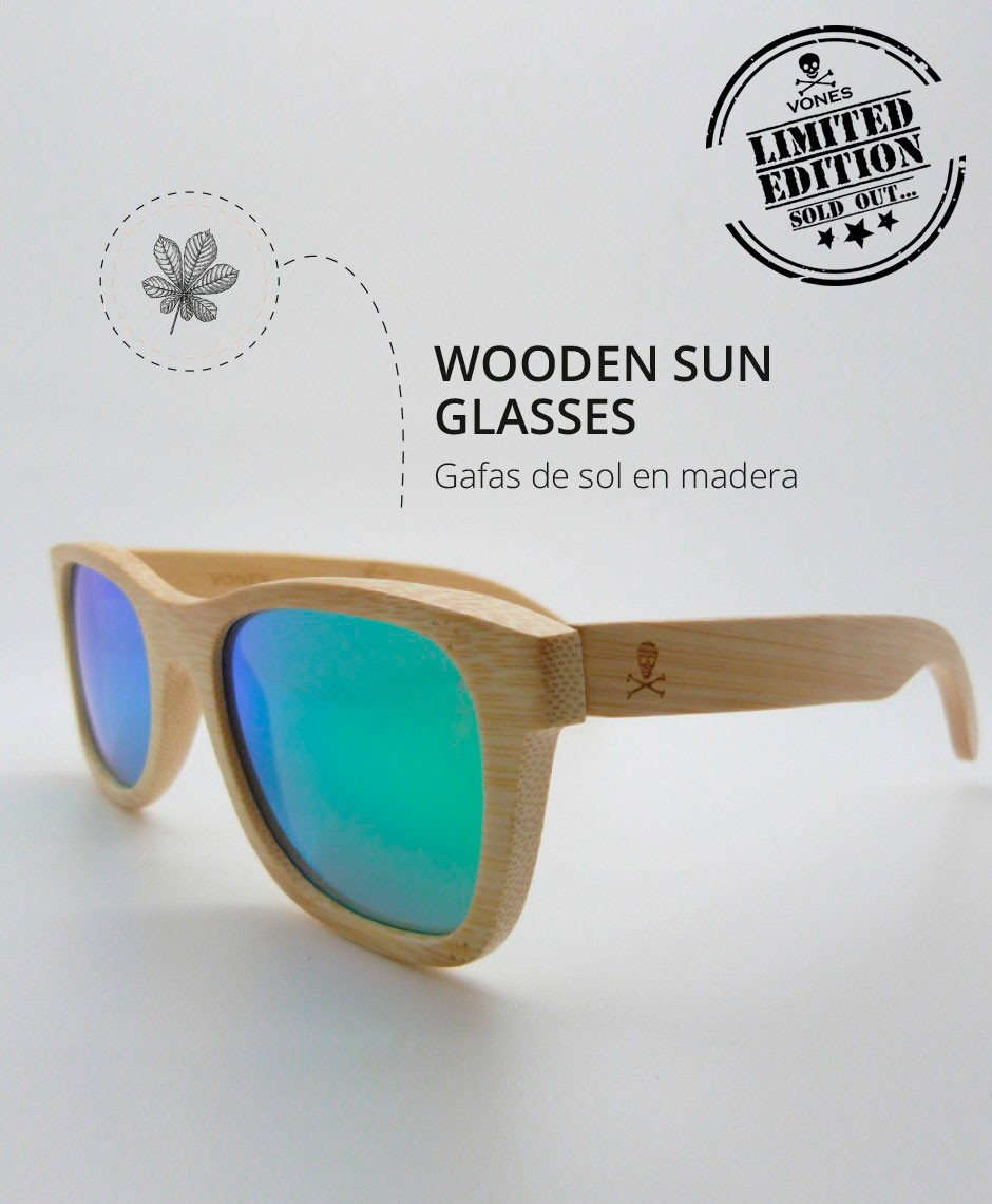 Wooden Sun Glasses